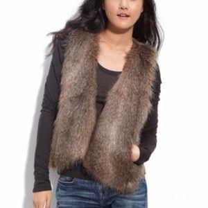 """Ella Moss Faux Fur """"Kennedy"""" Vest"""